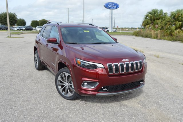 Jeep Cherokee Overland >> New 2019 Jeep Cherokee Overland Sport Utility In Arcadia 19jt003