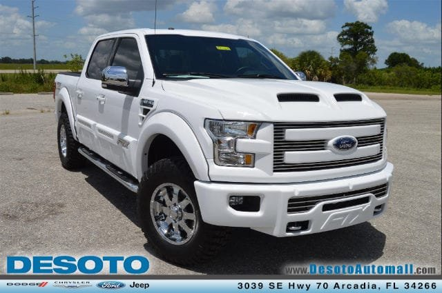 Pre Owned 2015 Ford F 150 Lariat Crew Cab Pickup In Arcadia P6825