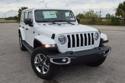 New 2020 Jeep Wrangler Unlimited True North Edition