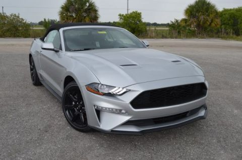 New 2019 Ford Mustang EcoBoost Premium Convertible