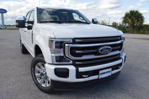 New 2020 Ford Super Duty F-250 SRW Platinum